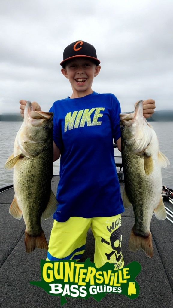 Cooper with his Personal Best Bass