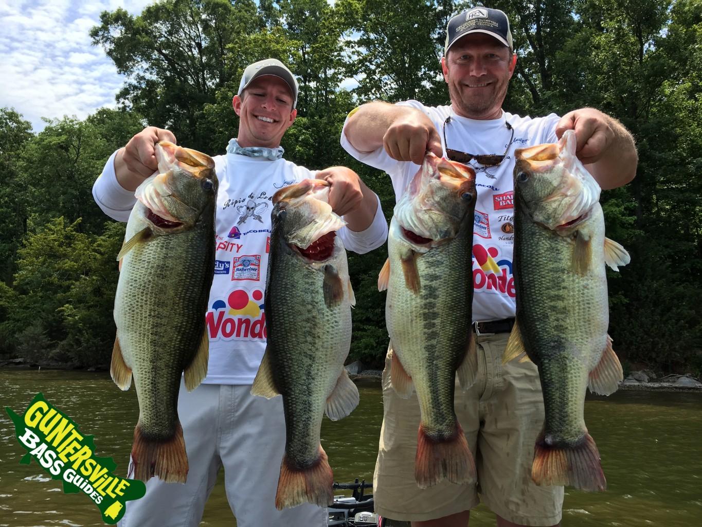Lake guntersville bass fishing report july 1st for Lake guntersville bass fishing report