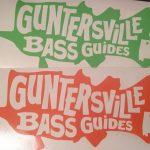 Guntersville Bass Guides Decals