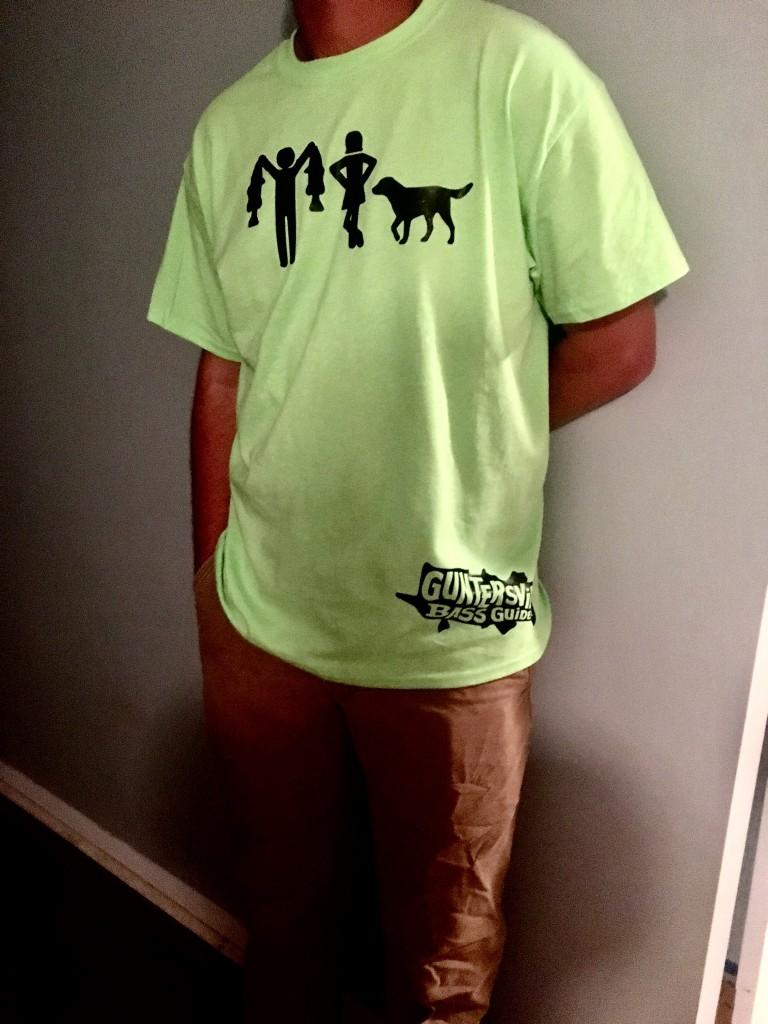 Guntersville Bass Guides She'll Get Over IT Shirt