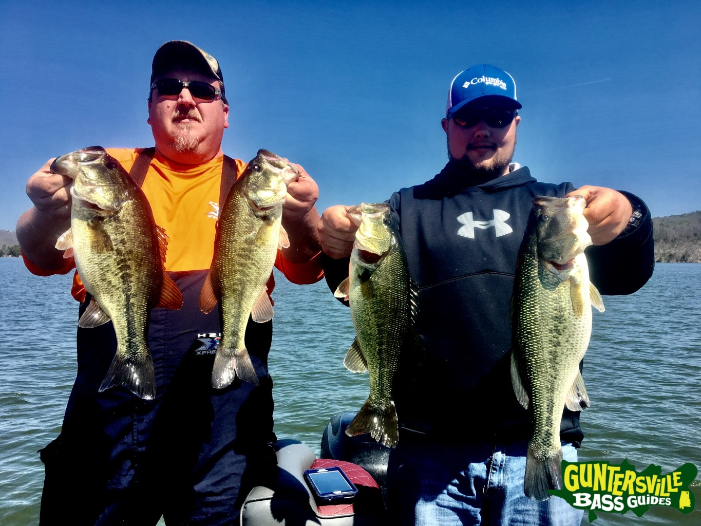 Big bass splash report for Fishing report lake guntersville