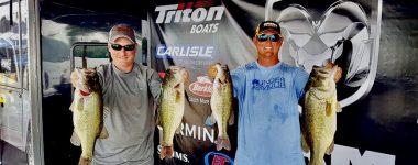 Hatfield & Leary Take 3rd In ABA Lake Guntersville 4-29-17