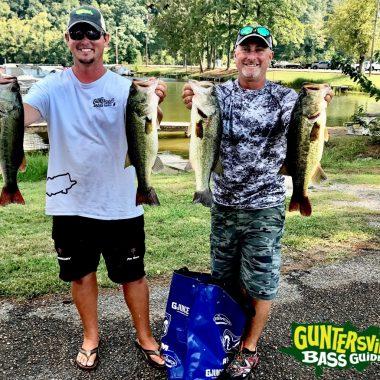 Best September I've Seen On  Lake Guntersville 10.2.17
