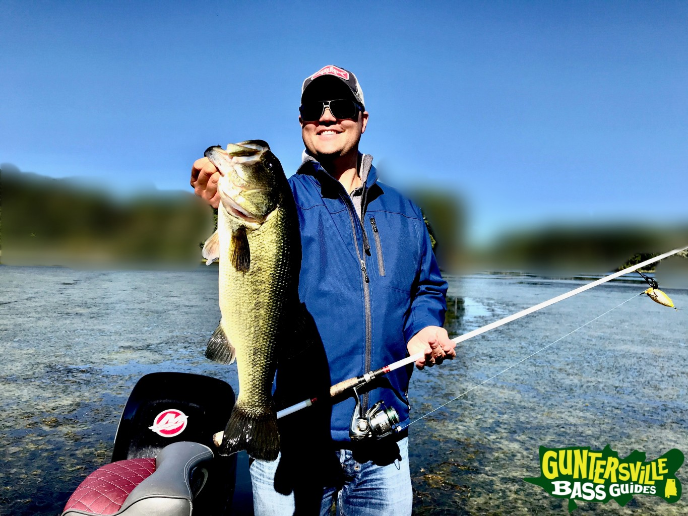 Lake guntersville fishing is strong for Fishing report lake guntersville