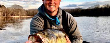 10-08 LB LargeMouth Bass Lake Guntersville