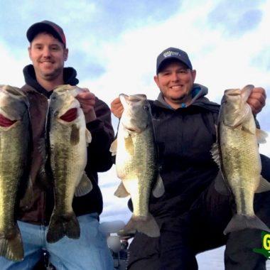 Lake Guntersville FEB 5th Bass Fishing