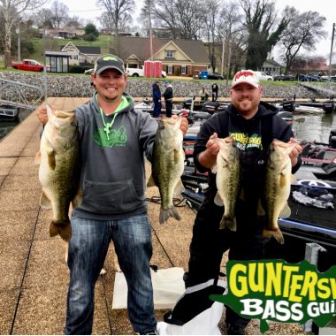 The Big Bass Are Biting On Lake Guntersville