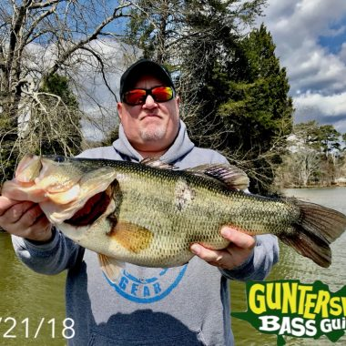 Madness Of March Largest Bass To Date