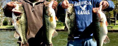 April 17th Lake Guntersville Bass