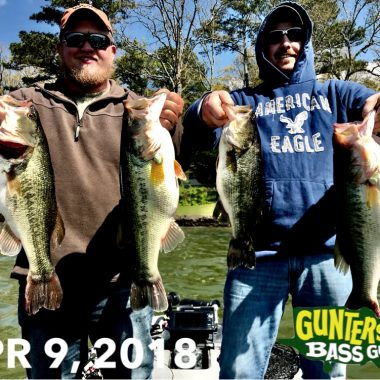 April 17th Lake Guntersville Bass