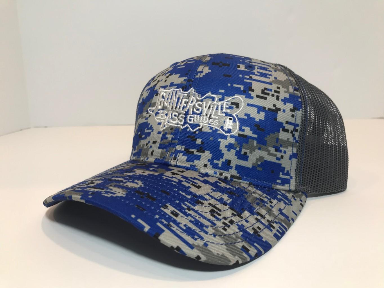 GUNTERSVILLE BASS GUIDES HATS DIGITAL CAMO