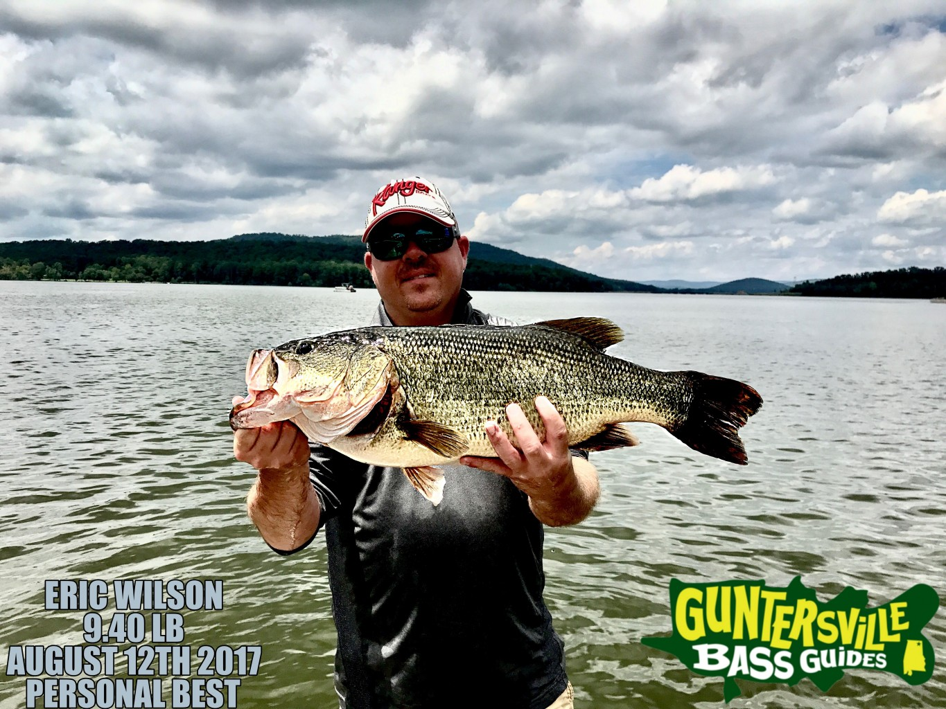 lake guntersville august 13th bass fishing report