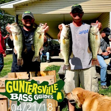 Lake Guntersville Bass Are Like Weather..CRAZY!!!!!