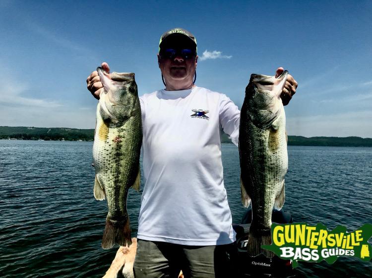 Guntersville Bass Guides Post Spawn Bite