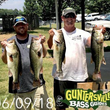Guntersville June 15th Big Bass