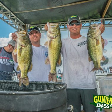 Guntersville Isn't Showing Any Signs Of Slowing Down.