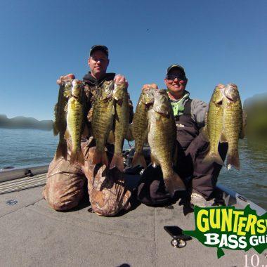 Lake Guntersville Fun Fall Fishing