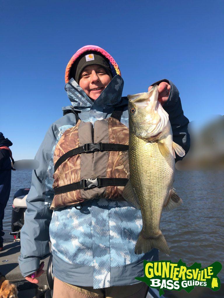 Guntersville Bass Guides March Fishing