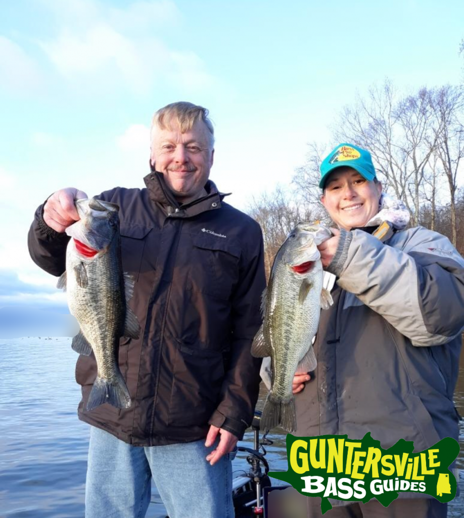 Guntersville Bass Guides March Fishing